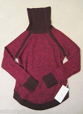Lululemon Passage To Prana Sweater Berry Rumble Heathered Bordeaux Drama 6