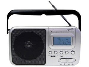 Supersonic SC-1091 4 BAND AM/FM/SW RADIO WITH DIGITAL DISPLAY