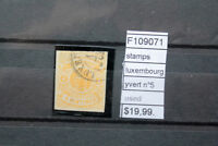 STAMPS  LUXEMBOURG YVERT N°5 USED (F109071)