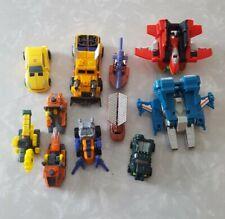 Transformers Armada Mini-Con Lot Of 11 2002