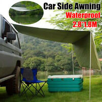 Universal Car Side Awning Rooftop Tent Sunshade Outdoor Camping Travel Tent