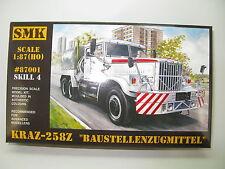 #87001 KrAZ-258Z baustellenzugmittel SMK Modell-bausatz - 1:87 HO NEU