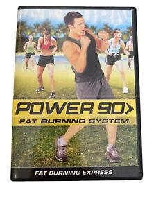 Power 90 Fat Burning System Tony Horton - DVD Disc by Beachbody