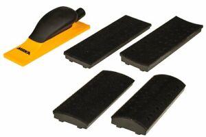 MIRKA® 70x198mm 4-in-1 hand sanding block kit