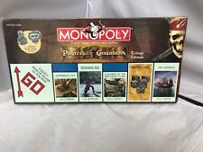 New Monopoly Pirates Of The Caribbean Trilogy Edition Board Game Hasbro Sealed