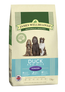 James Wellbeloved Senior Duck and Rice Dog Food | Dogs