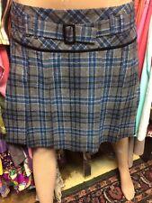 School Girl Pleated Skirt Mini Plaid Pura Vida 10 Skirts Lined belt