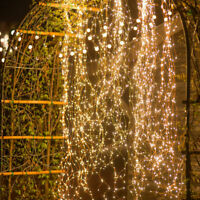 200 LED Lights Waterfall String Fairy Icicle Lights Party Garden Decor Outdoor