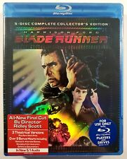 Blade Runner - The Complete Collectors Edition (Blu-ray, 2007, 5-Disc Set) NEW