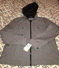 MENS LEVIS Trucker Soft Shell Jacket  Gray Size L New With Tags $140