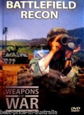 WEAPONS OF WAR - Battlefield Recon DVD + BOOK WORLD WAR TWO WWII BRAND NEW R0