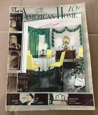 The American Home Magazine Jan. 1941 Issue, Building, Decor, Gardens, Ads