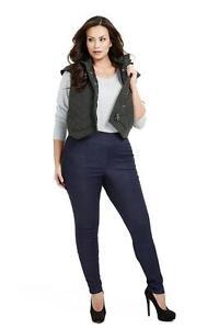 MYNT 1792 Dark Blue Denim Jeggings Jeans Plus Size 16