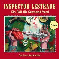 INSPECTOR LESTRADE - DER ZORN DES ANUBIS  EIN FALL FÜR SCOTLAND YARD  CD NEU