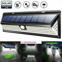 1000LM 118LED Solar Lamp Outdoor Garden Waterproof PIR Motion Sensor Light CHL