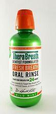 TheraBreath Fresh Breath Oral Rinse Mild Mint 16 Ounce - 1 Bottle
