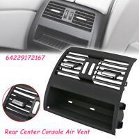 Rear Center Console Fresh Air Outlet Vent Grille Grill Cover For BMW 5 F10 F11