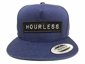 Hourless Classic Snap-back Hat Mens NAVY Afends RVCA Drop Dead Vans