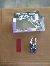 1980's TRANSFORMERS  Evil Decepticon Insecticon Sharpnel