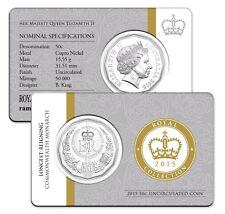 AUSTRALIA: 2015 50 cent Longest-Reigning Commonwealth Monarch SCARCE