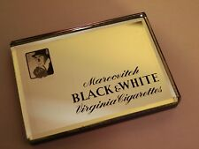 More details for vintage marcovitch black & white cigarettes advertising paperweight 1930s
