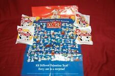 MCDONALDS HAPPY MEAL 101 DALMATIANS Sealed 1996 Mystery Figures Lot 4 w Poster