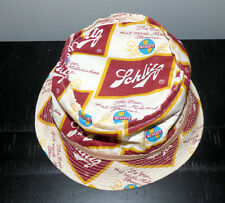Vintage 70's * Schlitz Beer * Hat with Logos Extra Small