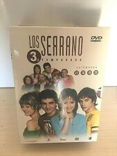 LOS SERRANO 3 TEMPORADA COMPLETA DVD - EXELENTE CONSERVACION
