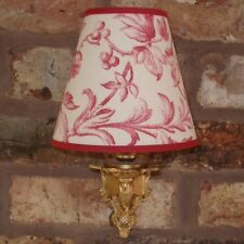 Laura Ashley Ironwork Scroll -  Medium Handmade Candle Clip Lampshade Wall/Base