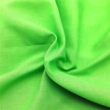 Plain Poplin Polycotton Fabric Cotton Sheeting Jersey Dress Material 150cm Wide