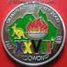 1997 KOREA 100 WON SILVER PROOF KANGAROO AUSTRALIA MAP SYDNEY 2000 OLYMPIC FLAME
