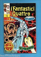 SUPER EROI - I FANTASTICI QUATTRO-CORNO-N.70- 11 DICEMBRE 1973-NO RESA+ADESIVI