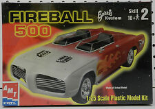 PLYMOUTH MOVIE SHOW CAR BARRACUDA CUDA FIREBALL 500 1967 MOPAR AMT MODEL KIT