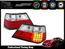 FEUX ARRIERE ENSEMBLE LDME02 MERCEDES W124 CLASSE E 1985-1995 RED WHITE LED