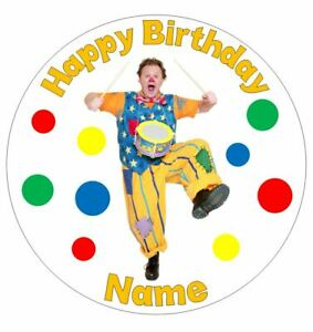 Mr Tumble Personalised Edible Icing Cake Topper or Ribbon
