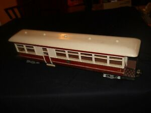Geoffbilt Early Wooden Canadian Passenger Car