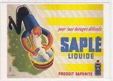 CP Postcard Affiche SAPLE LIQUIDE produit Saponite Edit FORNEY