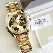 MK Authentic Michael_Kors Chronograph Hunger Stop Gold Watch Oversized