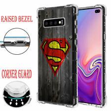 Samsung Galaxy S10 Plus Air Cushion Corner Guard Impact Case Superman #W