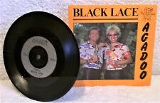 "BLACK LACE AGADOO  7"" VINYL Single Smokie Dance Instruction Sleeve FLA 107 EX/EX"
