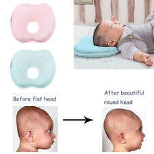 Soft Infant Baby Pillow Prevent Flat Head Memory Foam Cushion Sleeping Support I