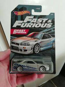 Hot  wheels Fast Furious NISSAN SKYLINE GT-R R34 2021?