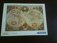 Puzzle Jigsaw 1000 piece Clementoni High Quality Collection Old Map Mappa Antica