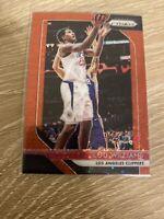 2018-19 Panini Prizm NBA Basketball Lou Williams Red Disco /125 Clippers