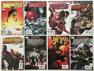 Thunderbolts #s 107 108 110 115 116 128 129 Lot of 8 Marvel Comics 2006-2009