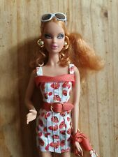 BARBIE STEFFIE FACE BIG LIPS MODEL SUMMER DOLL RED HAIR 2007 MUSE BODY
