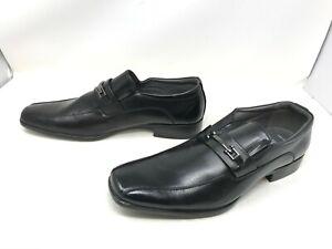 Mens Apt 9 (200153) Wendell Black Slip On dress shoes 428C