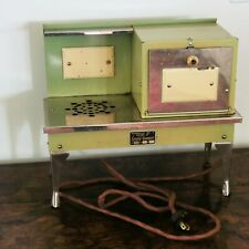 Vtg Art Deco Miniature Dollhouse Toy Enamel Metropolitan Mfg Co Electric Stove