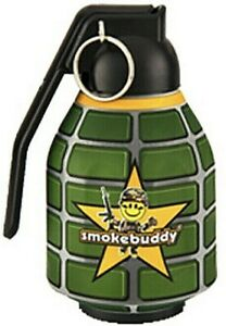 "Smoke Buddy The Original PERSONAL AIR FILTER ""Grenade"" w/ FREE Keychain"
