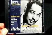Jazz Greats - Duke Ellington  - CD, VG